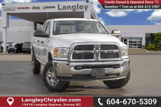 Used 2018 RAM 3500 *SLT LONG BOX* *BACK UP CAMERA* for sale in Surrey, BC