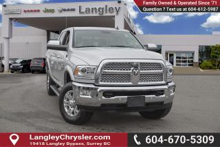 Used 2018 RAM 3500 Laramie *SUNROOF * *LARAMIE* *DIESEL* for sale in Surrey, BC