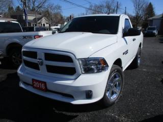 Used 2016 Dodge Ram 1500 WORK READY TRADESMAN EDITION 3 PASSENGER 5.7L - V8.. 4X4.. REGULAR CAB.. SHORTY.. BACK-UP CAMERA.. BLUETOOTH SYSTEM.. KEYLESS ENTRY.. for sale in Bradford, ON