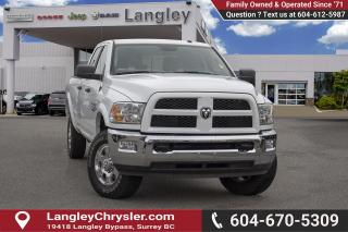 Used 2018 RAM 2500 SLT *LONG BOX* *DIESEL* for sale in Surrey, BC