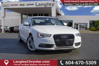 Used 2013 Audi A5 2.0T Premium Plus *NAVIGATION* *PANO-SUNROOF* for sale in Surrey, BC