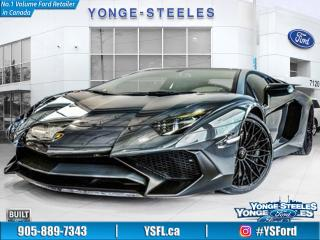 Used 2017 Lamborghini Aventador for sale in Thornhill, ON