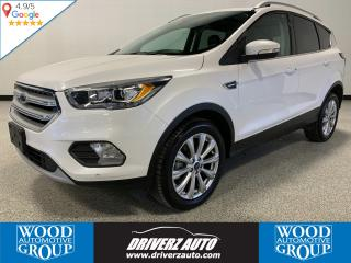 Used 2018 Ford Escape Titanium CLEAN CARFAX, ONE OWNER, TITANIUM for sale in Calgary, AB