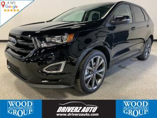 Used 2018 Ford Edge Sport REMOTE START, CLEAN CARFAX, HEATED STEERING WHEEL for sale in Calgary, AB