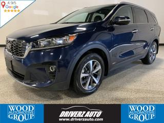 Used 2019 Kia Sorento 3.3L EX+ CLEAN CARFAX,HEATED LEATHER SEATS,PANORAMIC SUNROOF, BLIND SPOT MONITORING,HEATED STEERING WHEEL, A for sale in Calgary, AB