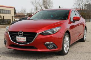 Used 2015 Mazda MAZDA3 GT Sunroof | Back-Up Camera | CERTIFIED for sale in Waterloo, ON