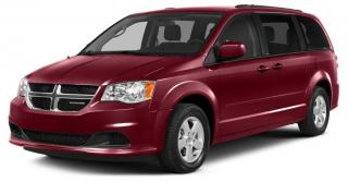 Used 2015 Dodge Grand Caravan Crew REAR CLIMATE CONTROLS, HEATED SEATS, 3 ROWS OF POWER WINDOWS, REVERSE CAMERA for sale in Ottawa, ON