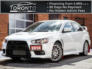 Used 2011 Mitsubishi Lancer 4dr Sdn Evolution GSR for sale in North York, ON