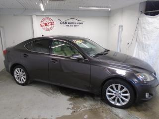 Used 2009 Lexus IS 250 2009 Lexus 250 for sale in Ancienne Lorette, QC