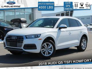 Used 2018 Audi Q5 Tsfi Komfort Quattro for sale in Victoriaville, QC