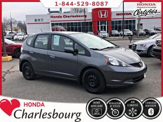Used 2012 Honda Fit LX **MANUEL**60 445 KM** for sale in Charlesbourg, QC