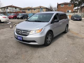 Used 2011 Honda Odyssey EX-L w/RES, 8 Passenger, DVD for sale in Toronto, ON