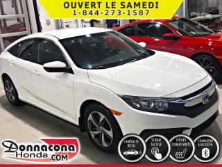 Used 2016 Honda Civic LX ***GARANTIE PROLONGÉE***ÉCRAN TACTILE for sale in Donnacona, QC