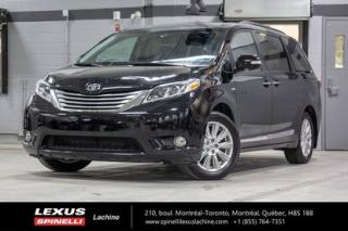 Used 2017 Toyota Sienna Ltd Awd 7 Pass for sale in Lachine, QC