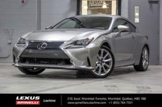Used 2015 Lexus RC 350 Executif Awd for sale in Lachine, QC