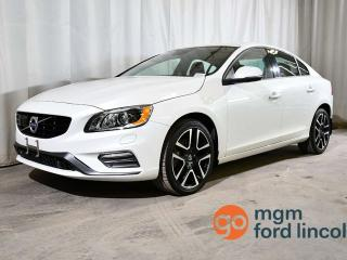 Used 2018 Volvo S60 S60 T5 AWD DYNAMIC   HEATED FRONT & BACK SEATS   HEATED STEERING WHEEL   BACKUP CAMERA   DRIVER ALERT CONTROL   ADAPTIVE CRUISE   LANE DEPARTURE WARNING for sale in Red Deer, AB