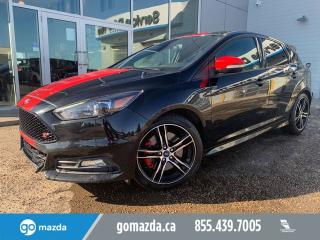 Used 2015 Ford Focus ST LEATHER NAVIGATION FUN CAR GREAT EYEBALL for sale in Edmonton, AB