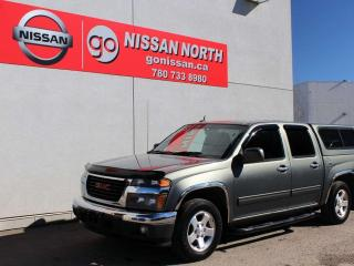 Used 2010 GMC Canyon SLT CREW CAB WITH CANOPY for sale in Edmonton, AB