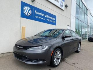 Used 2016 Chrysler 200 200 S - LOADED / LEATHER / SUNROOF for sale in Edmonton, AB