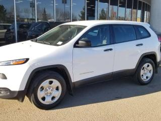 Used 2015 Jeep Cherokee SPORT; 4WD, BLUETOOTH, CRUISE CONTROL, A/C AND MORE for sale in Edmonton, AB