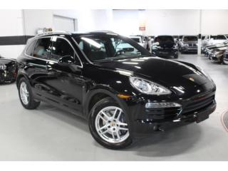 Used 2014 Porsche Cayenne Navigation   Backup Camera   Panoramic Sunroof for sale in Vaughan, ON