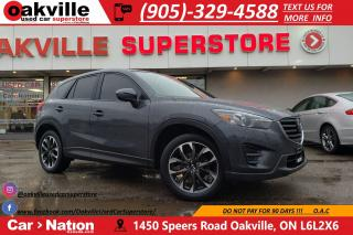 Used 2016 Mazda CX-5 GT | LEATHER | NAV | B/U CAM | BLUETOOTH for sale in Oakville, ON