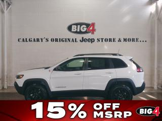 New 2019 Jeep Cherokee Trailhawk 4X4 for sale in Calgary, AB