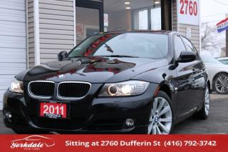 Used 2011 BMW 328xi NAVIGATION, LEATHER, SUNROOF, LOW KM for sale in Toronto, ON