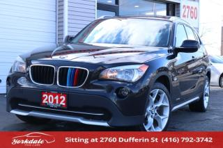 Used 2012 BMW X1 2.8I xDrive, Navigation, Camera, Original for sale in Toronto, ON
