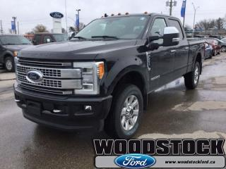 New 2019 Ford F-250 Super Duty Platinum  - Leather Seats for sale in Woodstock, ON