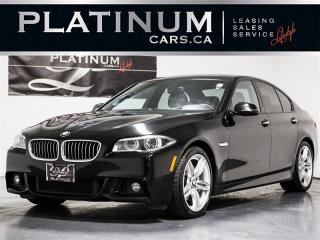 Used 2016 BMW 535 d xDrive M-SPORT, NAVI, Heads UP, TECH, Prem for sale in Toronto, ON