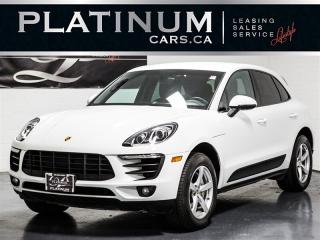 Used 2015 Porsche Macan S 340HP AWD, NAVI, CAM, Heated Lthr for sale in Toronto, ON