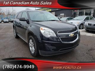 Used 2013 Chevrolet Equinox LS-AWD-BLUETOOTH-LOW Monthly PAYMENTS!! for sale in Edmonton, AB