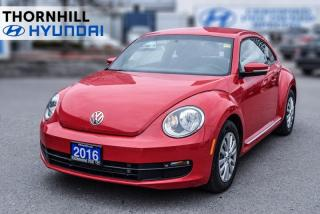 Used 2016 Volkswagen Beetle Trendline  - 	Bluetooth for sale in Thornhill, ON