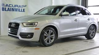 Used 2015 Audi Q3 2.0T Technik Quattro for sale in Blainville, QC