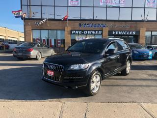 Used 2013 Audi Q7 3.0T Premium (Tiptronic)/NAVI/B UP CAM/B SPOT for sale in North York, ON