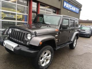 Used 2014 Jeep Wrangler Unlimited Sahara for sale in Kitchener, ON