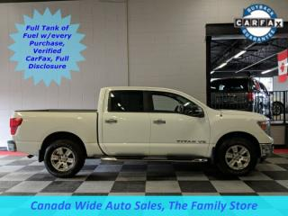 Used 2018 Nissan Titan 4X4, Crew Cab, SV, Back Up Camera for sale in Edmonton, AB