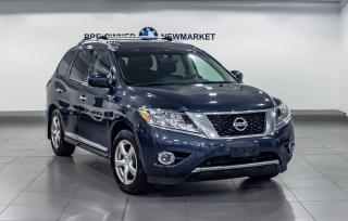 Used 2014 Nissan Pathfinder Platinum V6 4x4 at for sale in Newmarket, ON