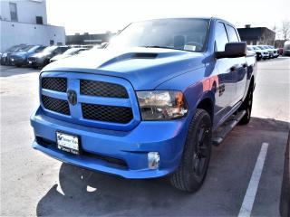 New 2019 RAM 1500 Classic Express Hydro Blue WHEEL & SOUND GRP BLACK SIDE ST for sale in Concord, ON