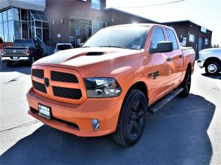 New 2019 RAM 1500 Classic Express Ignition Orange WHEEL AND SOUND GRP BLACK for sale in Concord, ON