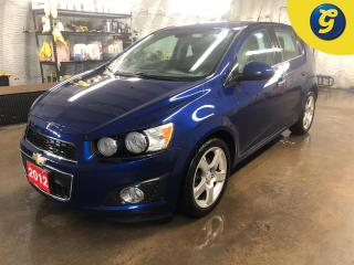 Used 2012 Chevrolet Sonic 1LT * Sunroof * Hands free steering wheel controls * Phone connect * Voice recognition * On star * Keyless entry * Climate control * Cruise control * for sale in Cambridge, ON