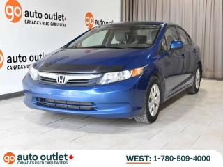 Used 2012 Honda Civic Sdn One Owner! LX, Manual, A/C, Economy mode for sale in Edmonton, AB