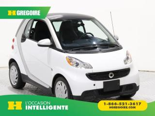Used 2015 Smart fortwo Pure Cuir for sale in St-Léonard, QC