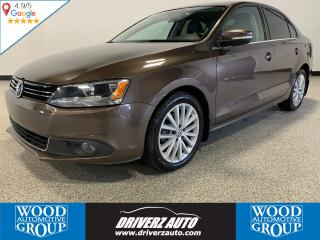 Used 2011 Volkswagen Jetta 2.0 TDI Highline TDI, HEATED LEATHER SEATS, SUNROOF, NAVIGATION for sale in Calgary, AB