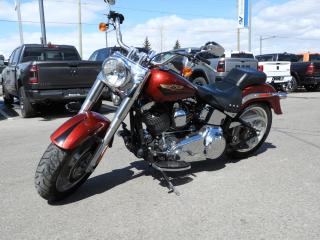 Used 2008 Harley Davidson Fat Boy IN SHOWROOM CONDITION, MANY UPGRADES for sale in Concord, ON