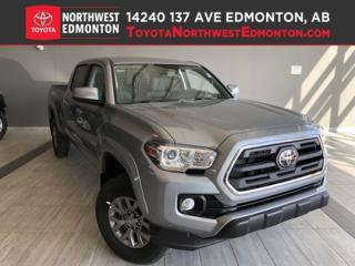 New 2019 Toyota Tacoma 4X4 Double Cab V6 SR5 for sale in Edmonton, AB