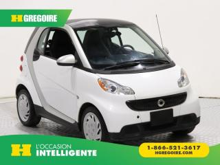 Used 2015 Smart fortwo PURE A/C GR ELECT for sale in St-Léonard, QC