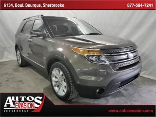 Used 2015 Ford Explorer Ltd Awd + 6 for sale in Sherbrooke, QC