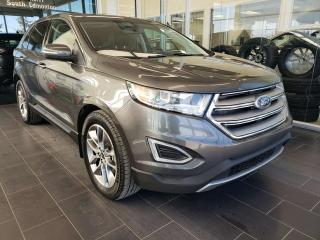 Used 2016 Ford Edge TITANIUM, HEATED/VENTED SEATS, NAVI, SUNROOF for sale in Edmonton, AB